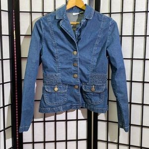 Cato Denim Jean Blazer/Jacket Size S Never Worn